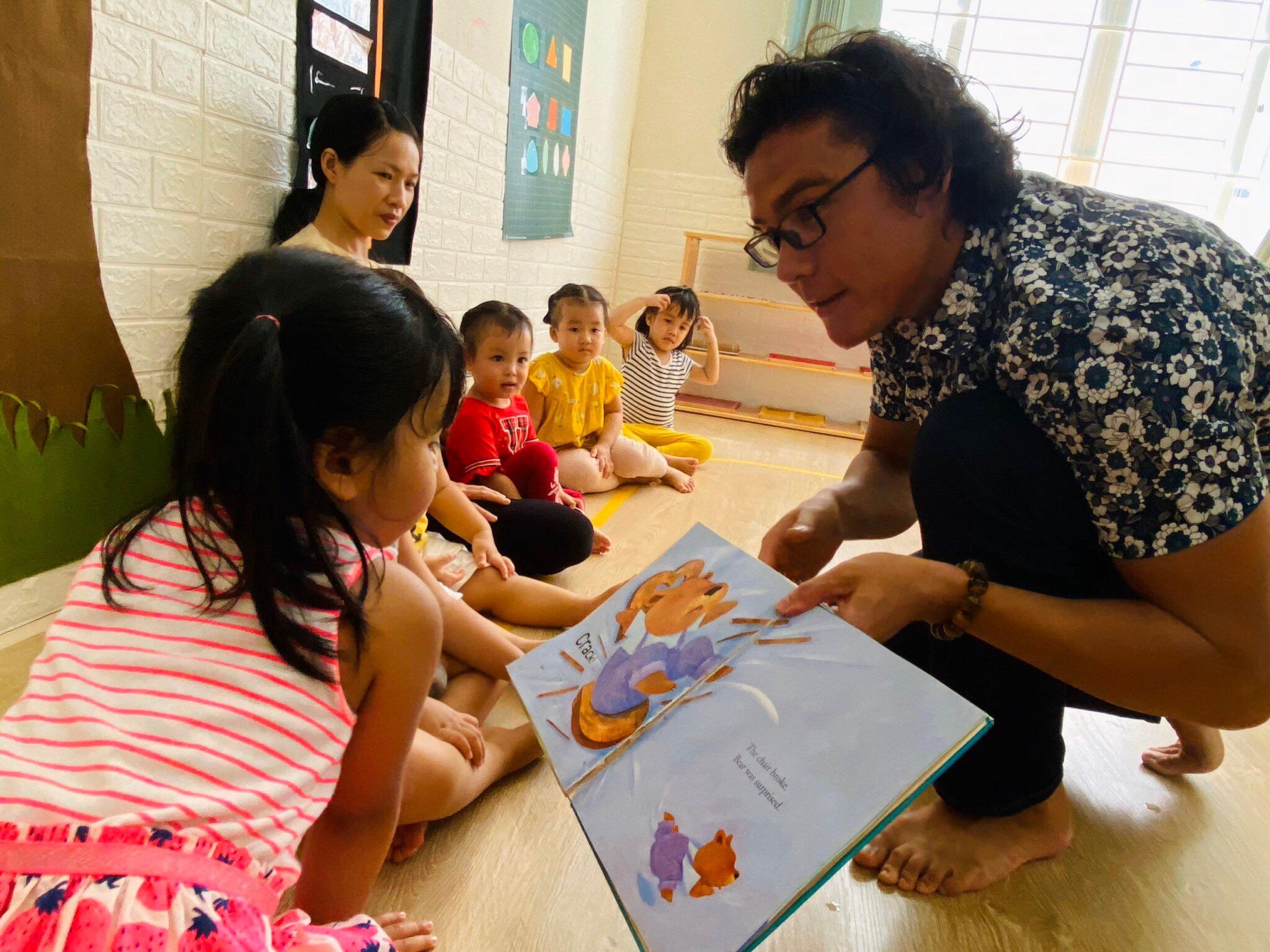 Lớp mẫu giáo Trường mầm non Vườn ươm Hạnh Phúc